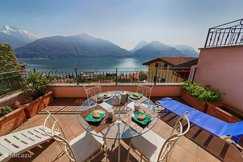 Vakantiehuis Italië, Comomeer, San Siro Appartement Mastena Panoramica