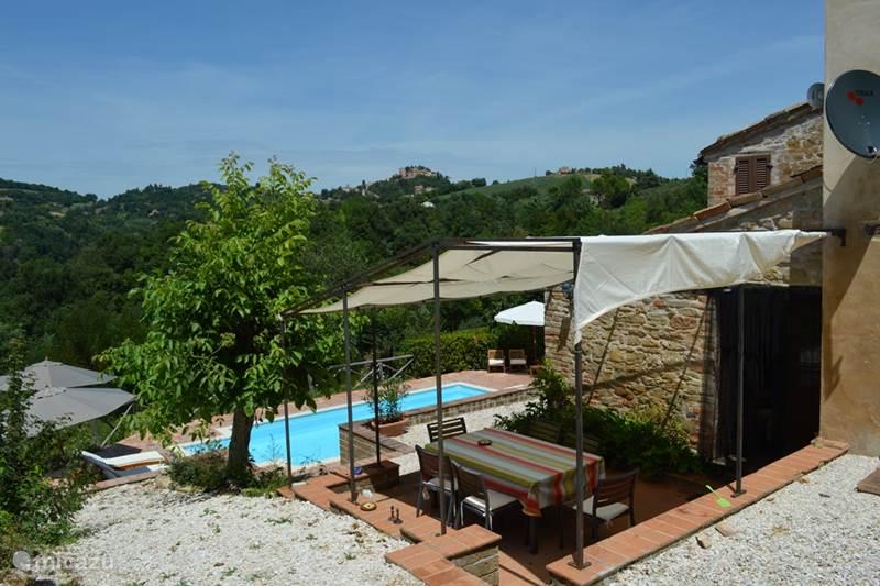 Vakantiehuis Italië, Marche, Sant'Angelo (Pontano) Vakantiehuis Casa Cannavino
