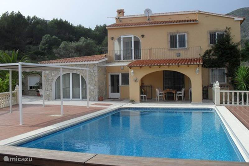 Vakantiehuis Spanje, Costa Blanca, Jalón Villa Villa Bernia met gedeeld zwembad