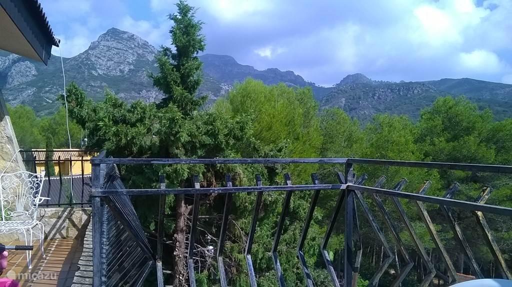 Uitzicht vanaf het terras
