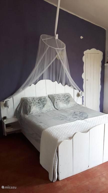 Slaapkamer 1, onze master bedroom.