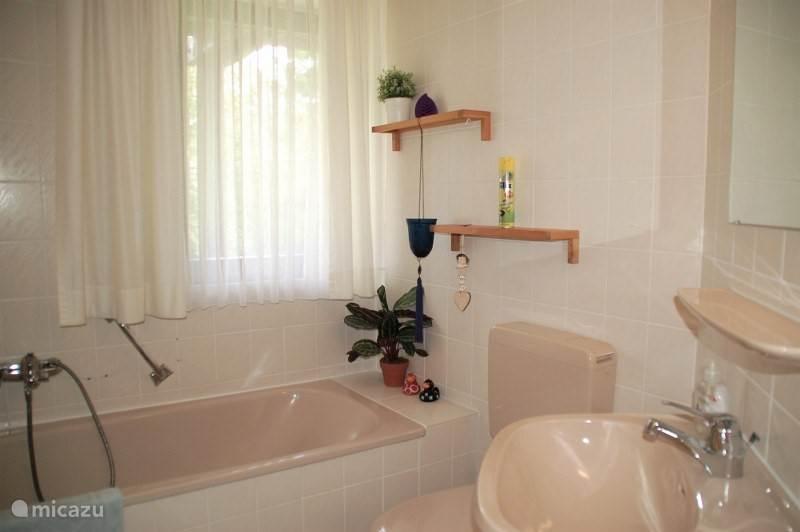 Badkamer 2 met bad, wc en wasbak