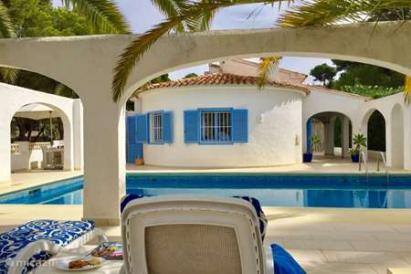 Vakantiehuis Spanje, Costa Blanca, Moraira villa Villa Delfin Azul