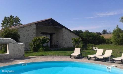 Vakantiehuis Frankrijk, Lot-et-Garonne, Casteljaloux Vakantiehuis Rimbes Casteljaloux - Etable de Reve