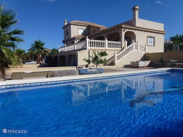 Vakantiehuis Spanje, Costa Blanca, Hondón de los Frailes villa Casa Motor