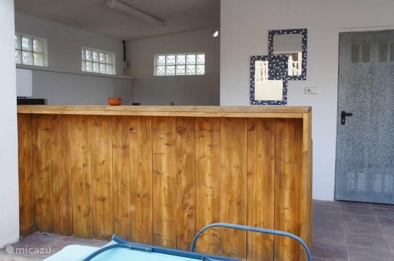 Buitenkeuken en bar