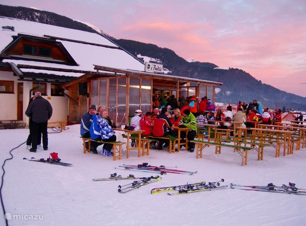 Coziness at the ski slope