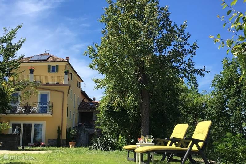 Vakantiehuis Italië, Piëmont, Ovada Appartement Casa Caroline: begane grond + terras