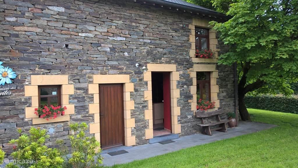La Maison des Marguerites is fully built in natural stone.
