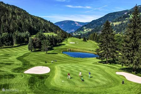 18 hole golf course in Bad Kleinkirchheim