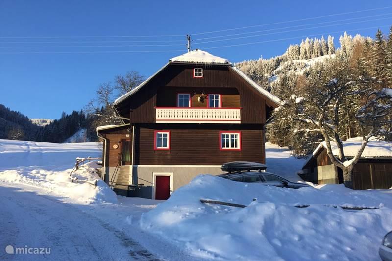 Vakantiehuis Oostenrijk, Karinthië, Gnesau Chalet Haus Paulanic