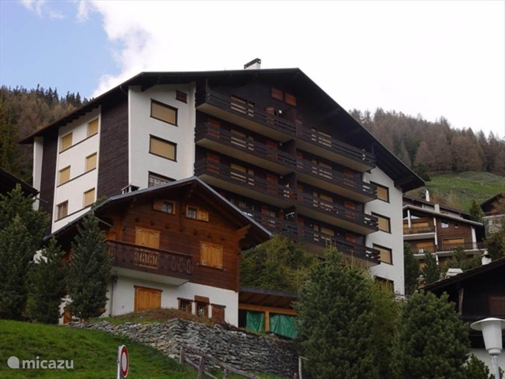 Vakantiehuis Zwitserland, Wallis, St Luc appartement Solalp 13