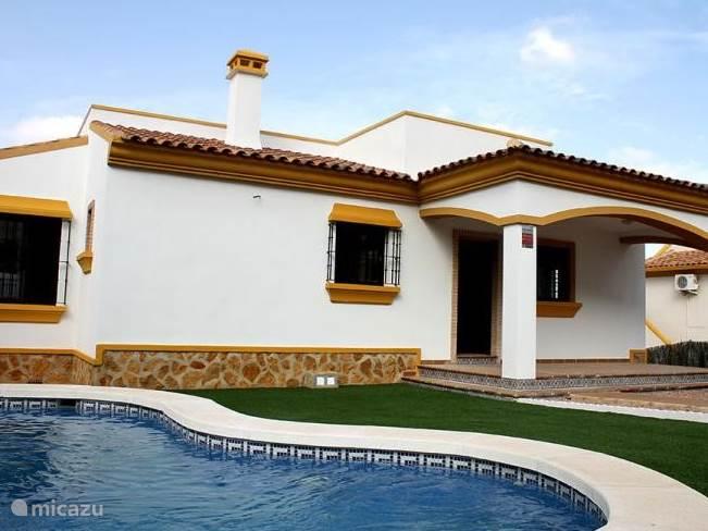 Vakantiehuis Spanje, Costa Blanca, Hondón de las Nieves villa Villa M040 (10 Personen)