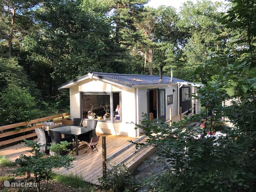 Vakantiehuis Nederland, Drenthe – chalet Boszicht