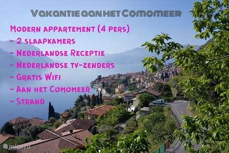 Vakantiehuis Italië, Comomeer, Acquaseria - appartement Camelia 21, 2  slaapkamers, Comomeer