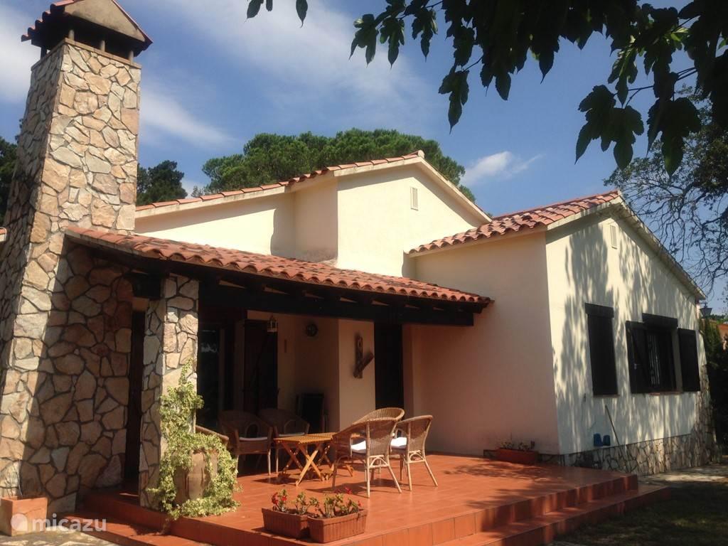Vakantiehuis Spanje, Costa Brava, Llagostera villa Casa Bellavista