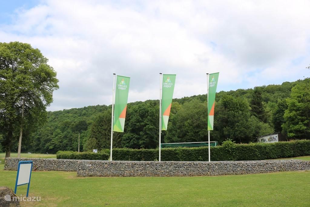 Der Eingang des Parks.