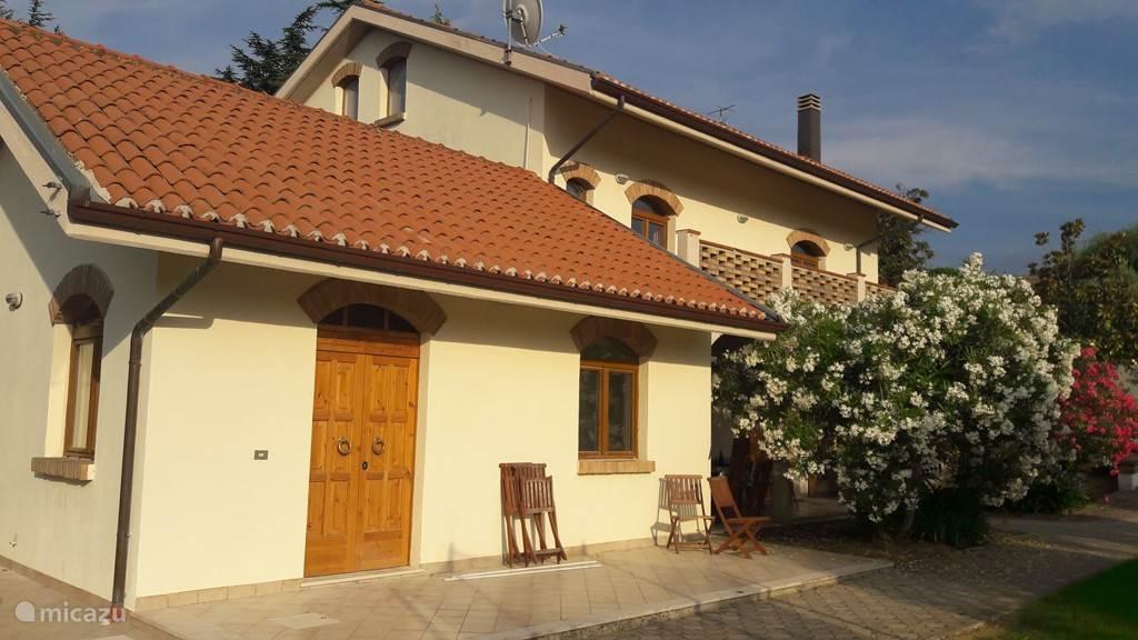 Vakantiehuis Italië, Abruzzen – appartement Villa Belpaese - Appartement Mare