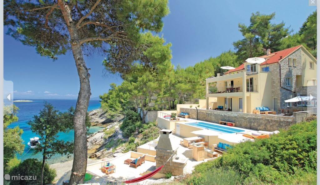 Vacation rental Croatia, Korcula, Prigradica Villa Villa Aquamarina