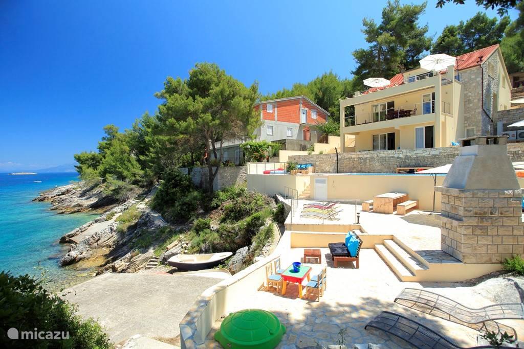 Vacation rental Croatia, Korcula, Prigradica Villa Villa Aquamarina