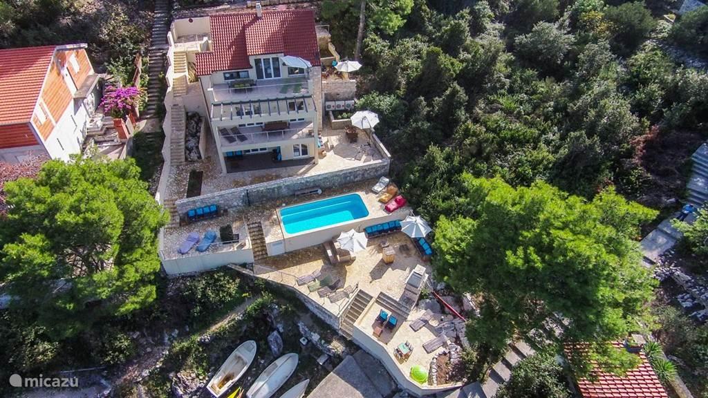 Vakantiehuis Kroatië, Korcula, Prigradica Villa Villa Aquamarina