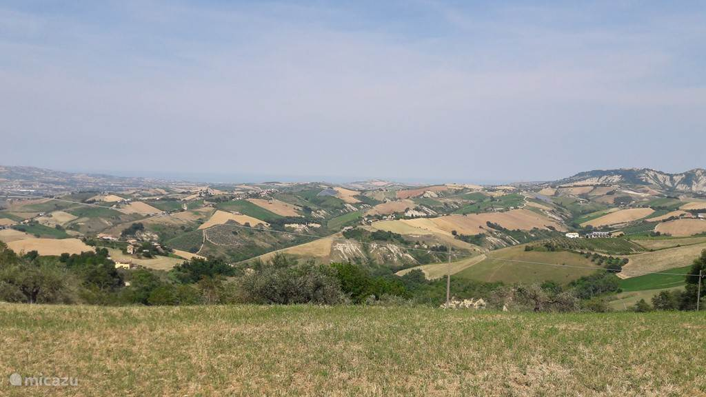 De heuvels van de Abruzzo...