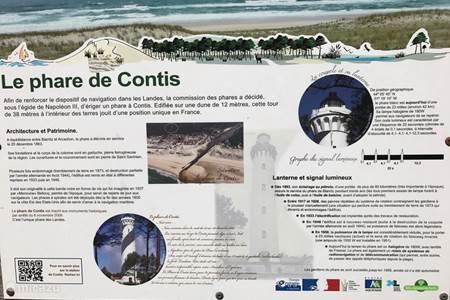 Le phare de Contis