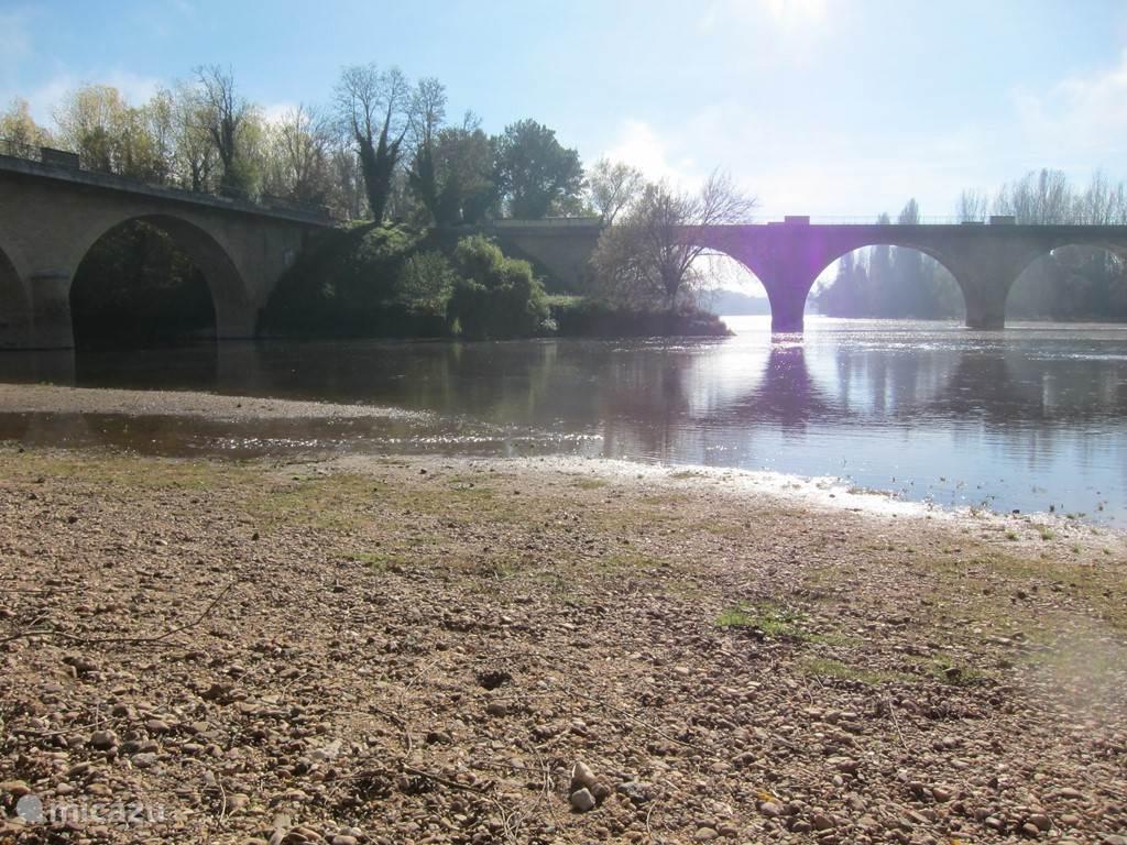 De rivier de Dordogne