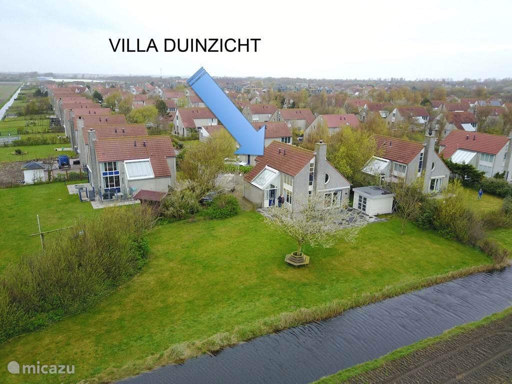 Villa Duinzicht aan zee