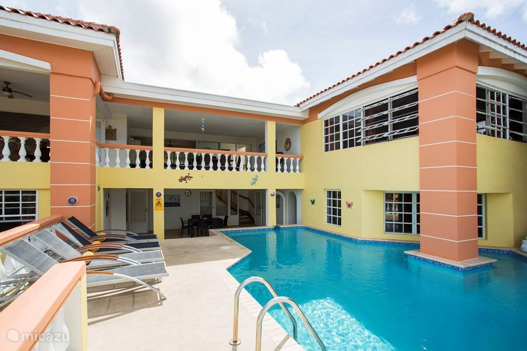 Private pool, shady porch, dining area balcony, right side first floor MBR,