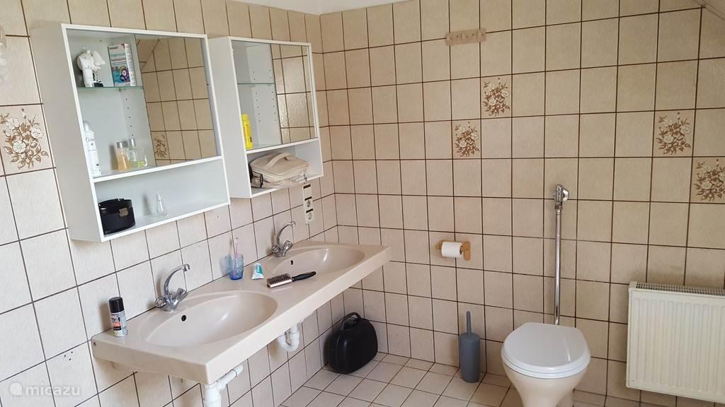 Wastafels badkamer 1