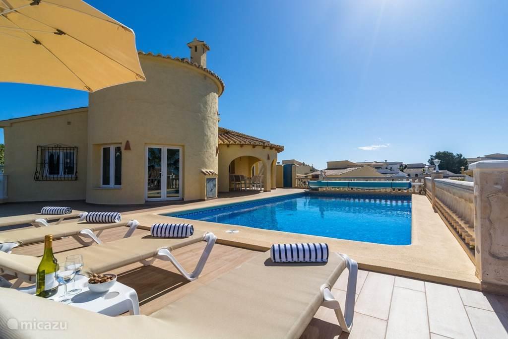 Vakantiehuis Spanje, Costa Blanca, Benitachell Vakantiehuis Casa Susanna