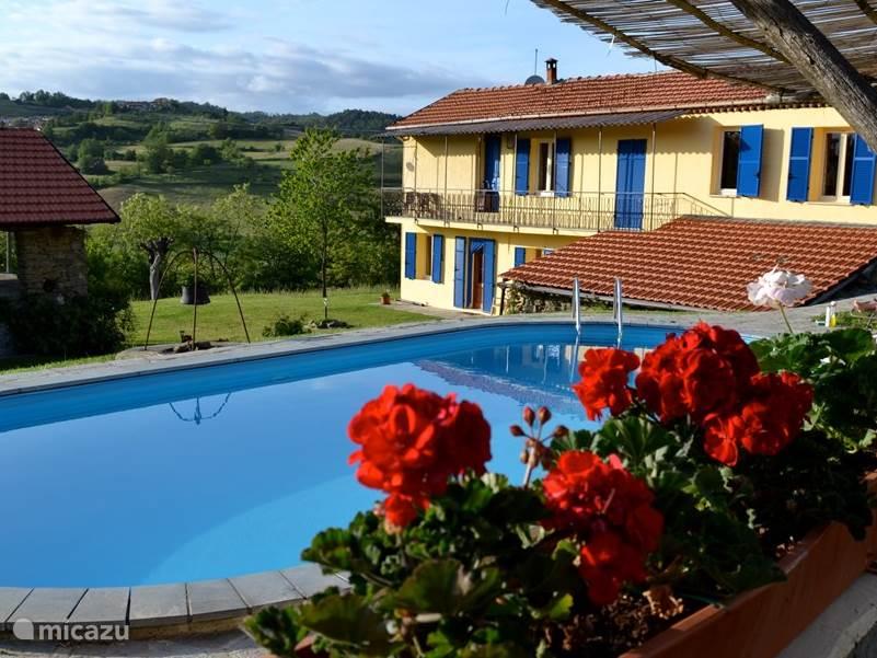 Ferienwohnung Italien, Ligurien, Pareto ferienhaus Pian del Gatto