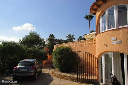Vacation rental Spain, Costa Blanca, Calpe villa Casa hilothe