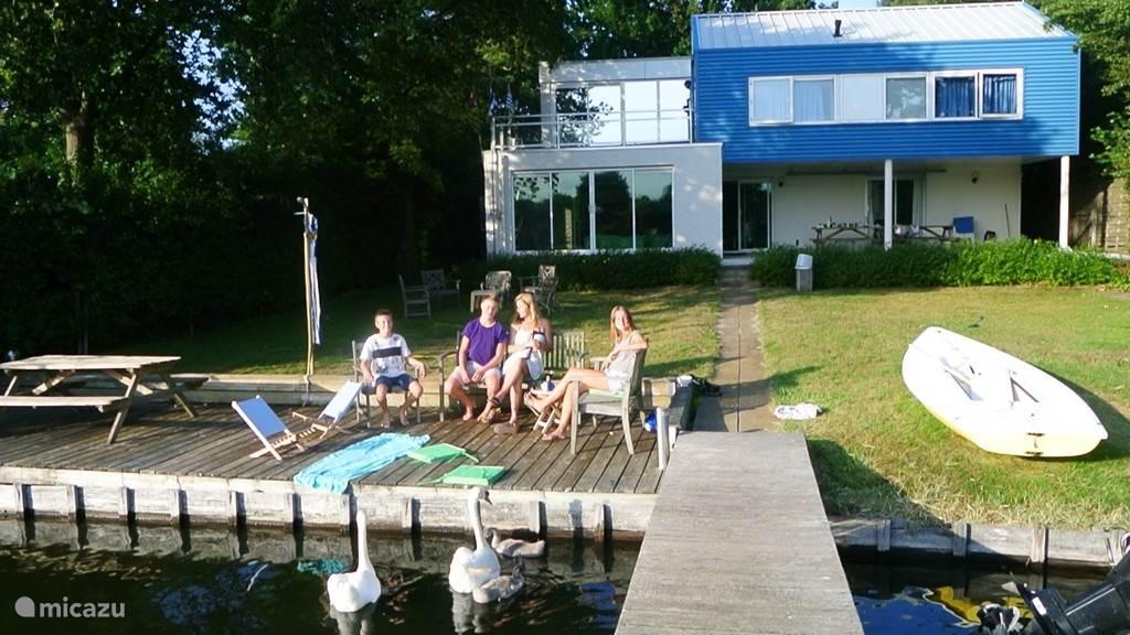 Vacation rental Netherlands, Zeeland, Arnemuiden holiday house Waterhouse Oranjeplaat Veerse Meer