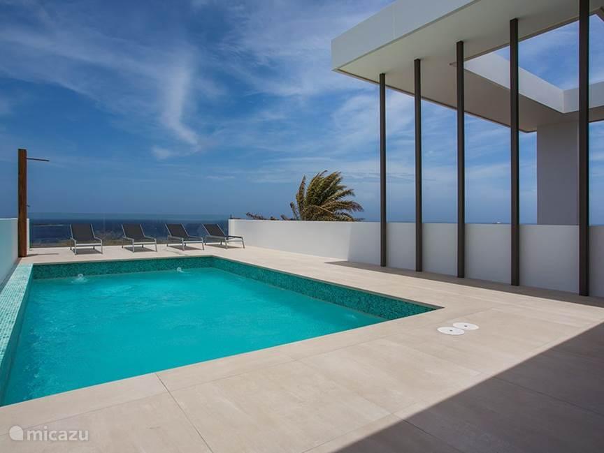 Lastminute Vakantiehuis Curaçao, Banda Ariba (oost), Jan Thiel – villa Riccavita penthouse