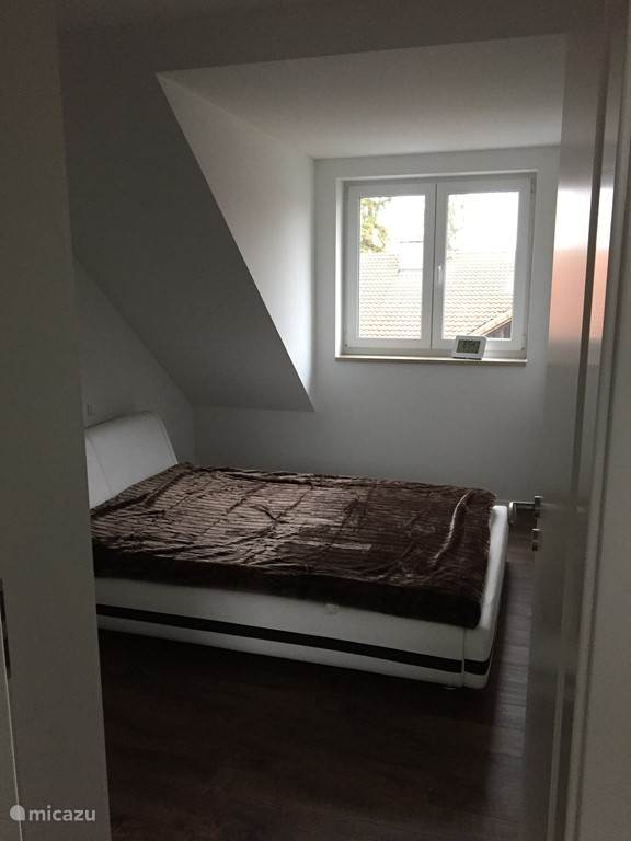 Slaapkamer met inbouw kasten