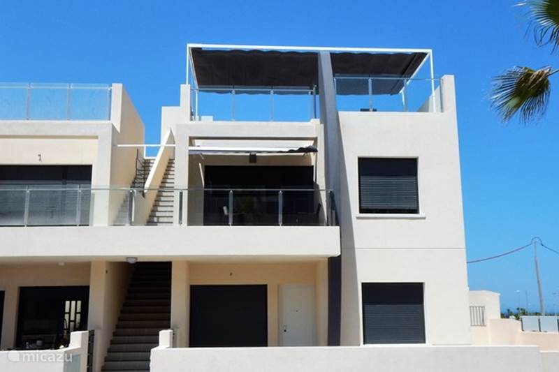 Vakantiehuis Spanje, Costa Blanca, Pilar de la Horadada Penthouse Luxe Penthouse Elisa Bay - zeezicht