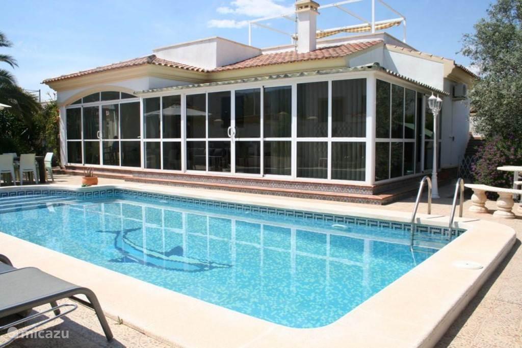 Vakantiehuis Spanje, Costa Blanca, Hondón de las Nieves - villa Casa Montana