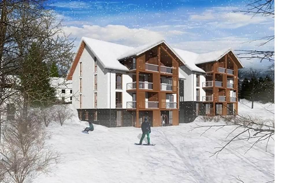 Direct aan de piste, ski-in/ski-out