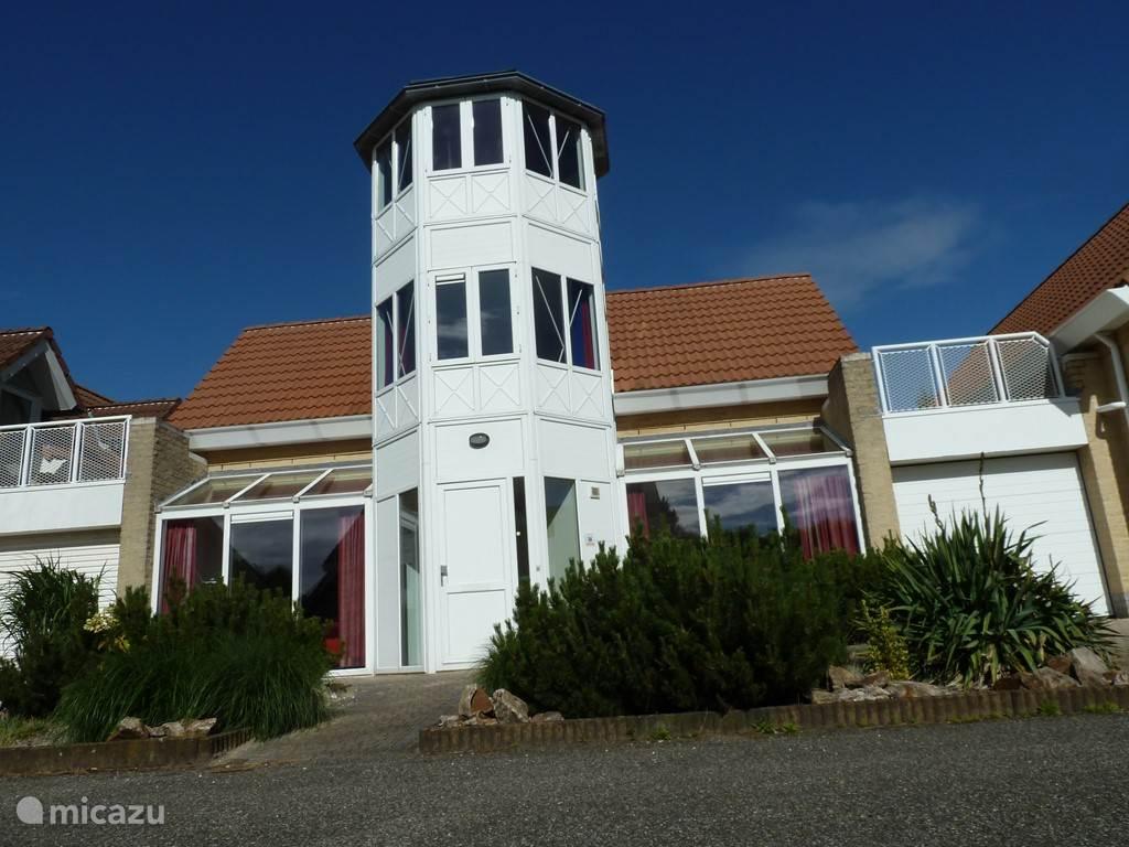 De uitkijktoren van het huis