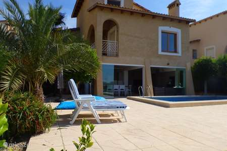 Vacation rental Spain, Costa Blanca, Alicante villa Casarelleu