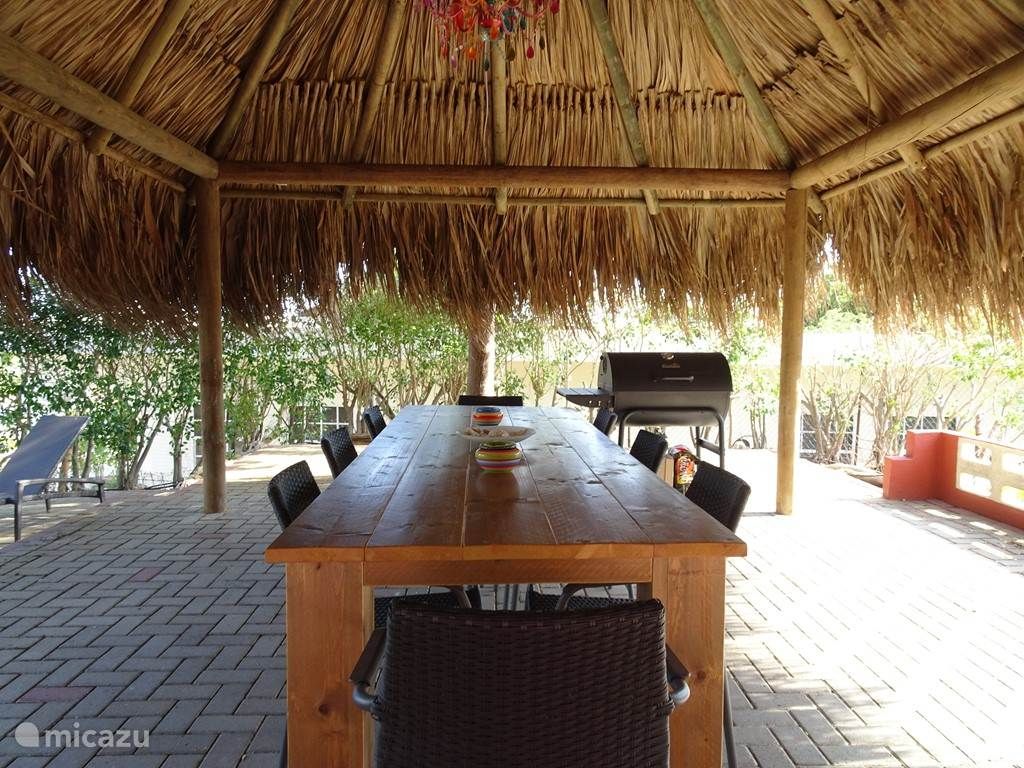 Palapa is located on the wind, where you can have breakfast, lunch, barbecue or just relax