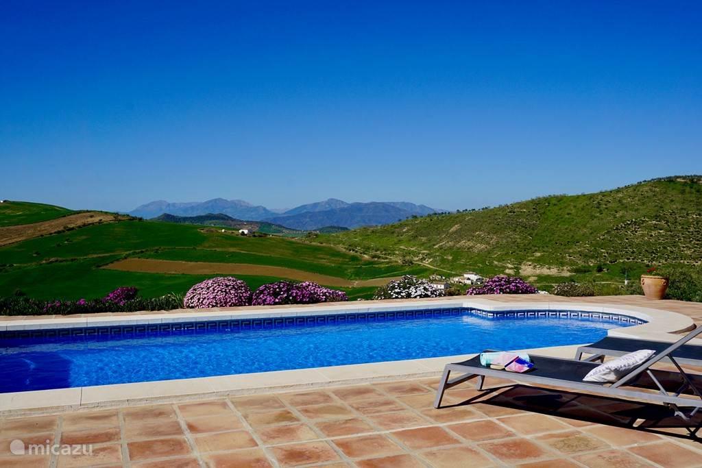 Uitzicht over de Andalusische heuvels