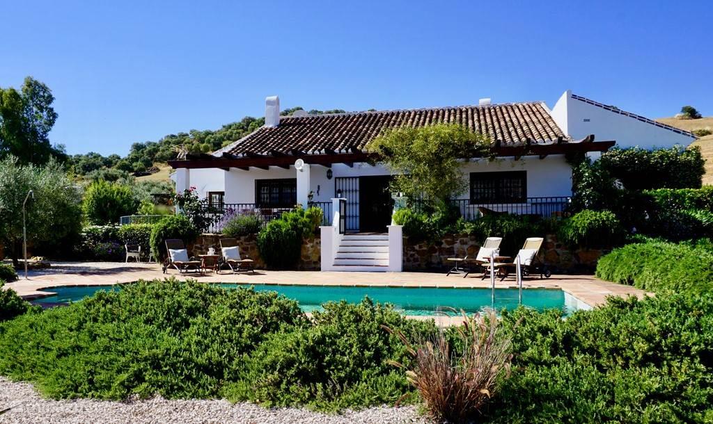 Vakantiehuis Spanje, Andalusië, Villanueva de la Concepción Vakantiehuis Mooie cortijo in Andalusië
