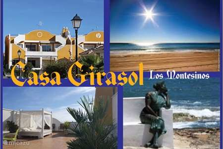 Vacation rental Spain – apartment Casa Girasol, apartment with WIFI