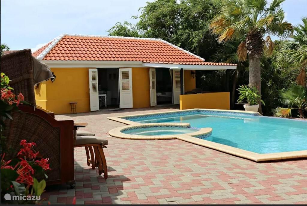 Vakantiehuis Curaçao, Curacao-Midden, Mahaai/damacor studio  Studio Beaujon Landhuis Bona Vista