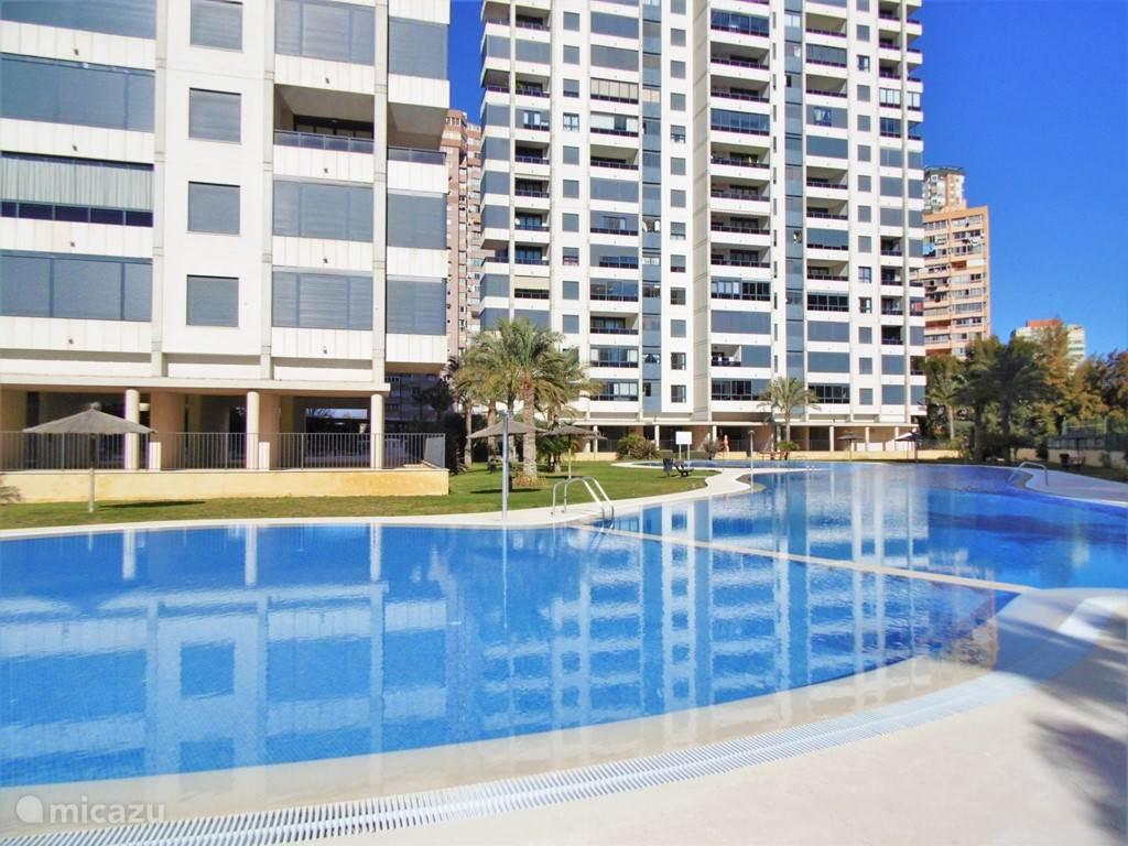 Vakantiehuis Spanje, Costa Blanca, Benidorm - appartement Luxe appartement Gemelos 26