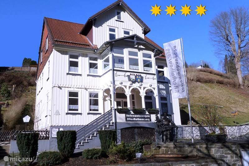 Vakantiehuis Duitsland, Harz, Wildemann Appartement Burgermeesterwoning AltesRathaus