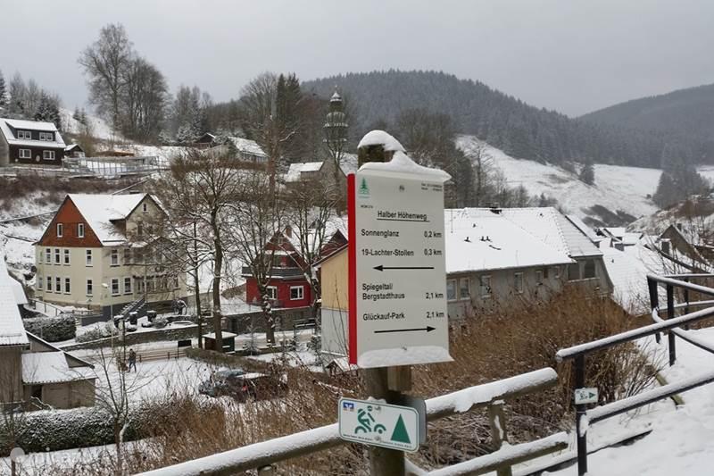 Ferienwohnung Deutschland, Harz, Wildemann Ferienhaus Magistratswohnung AltesRathaus